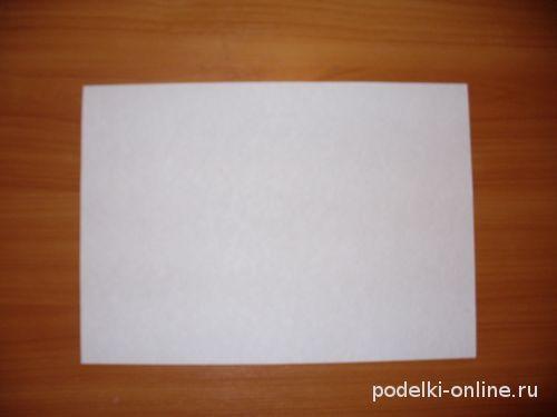 Лист бумаги A4 для поделки