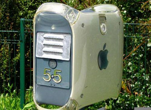 Ящик для почты, сделанный из втарого корпуса от компьютера