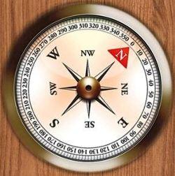 Настоящий компас
