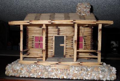 Большой дом из спичек своими руками пошаговая инструкция
